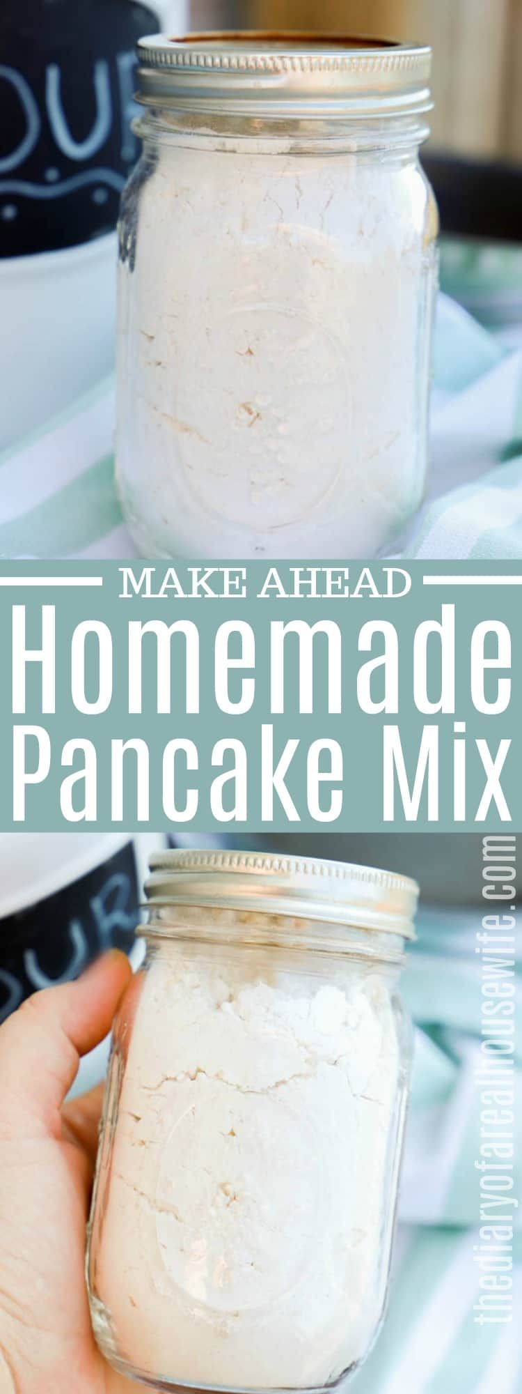 Homemade pancake mix i love how simple this is to make