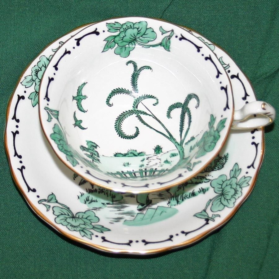 Pekin Cup and Saucer by Royal Chelsea