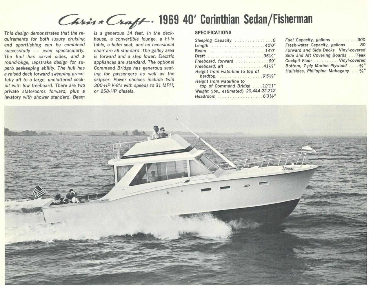 Chris Craft Commander Forum Chris Craft Chris Craft Boats Boat