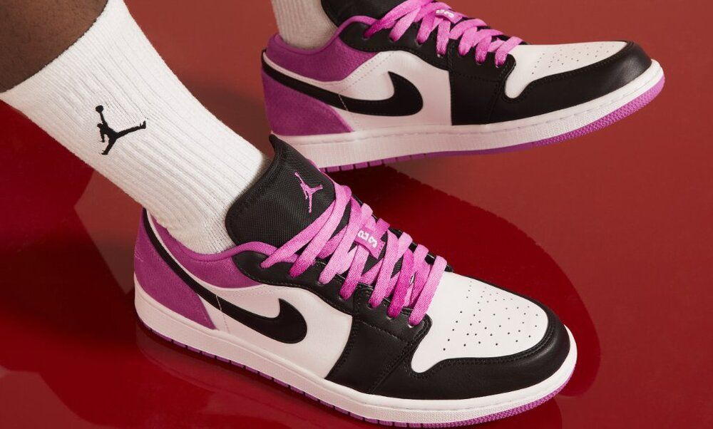air jordan 1 fucsia scarpe