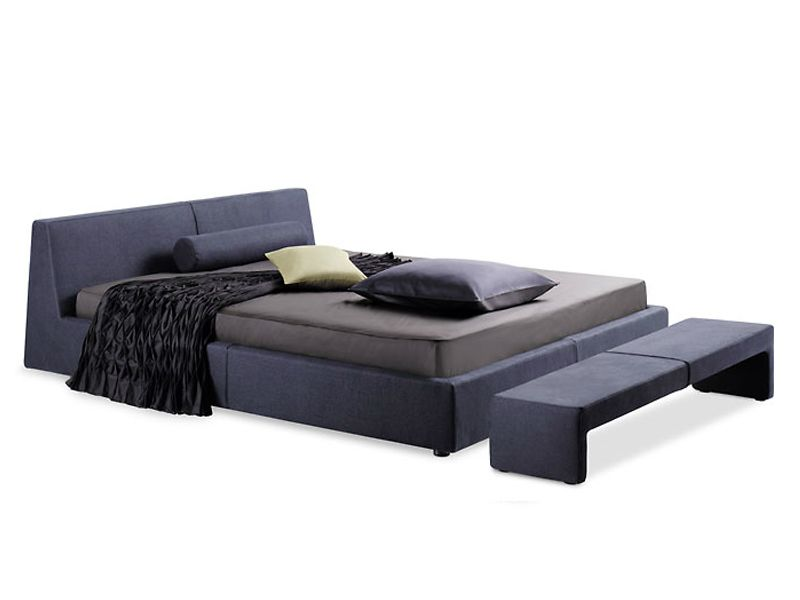 Upholstered double bed CALMO - Team by Wellis | Muebles | Pinterest ...