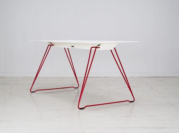 Lucy Folding Table Par Lervik Design Ab Architecture Furniture