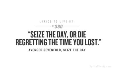 A7x 3 Lyrics To Live By Music Quotes Lyrics