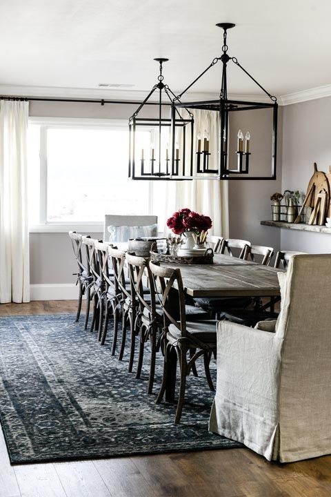 "20 ""one Room Challenge"" Makeovers That Are The Definition Of Inspiration Dining Room Definition Design Inspiration"