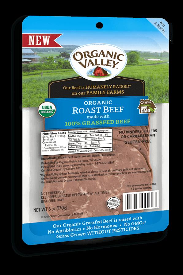 100 Grassfed Roast Beef Buy Organic Valley Near You in
