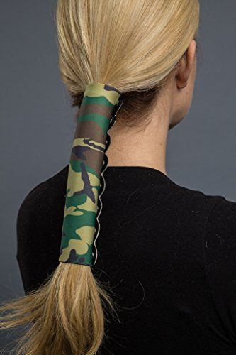 Hair Glove Neoprene Camo Pony Tail Holder (8 Inch) ** To view further for this item, visit the image link.