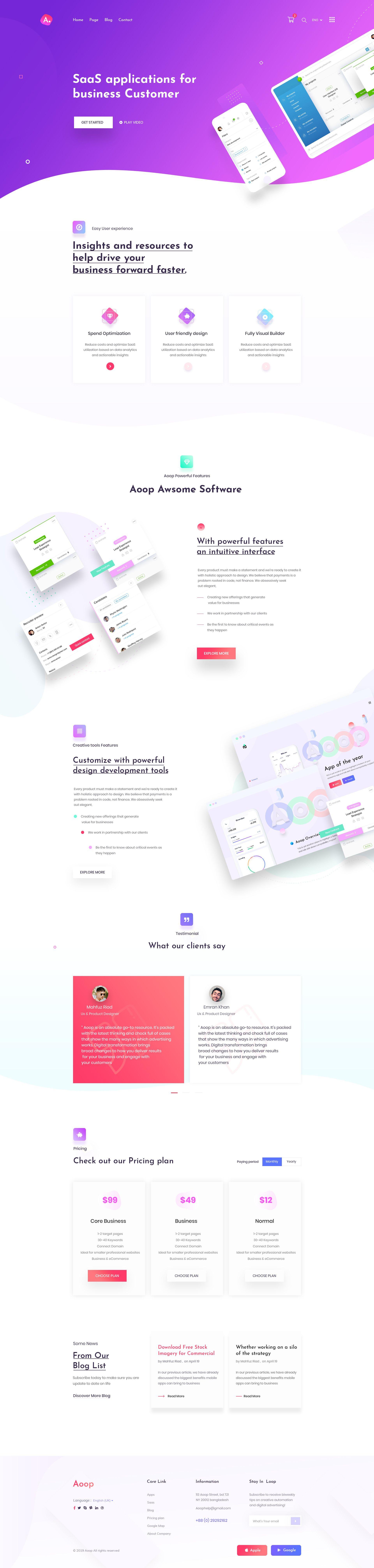 Top 12 Web Design Trends 2020 In 2020 Web Design Best Landing Page Design Web Design Trends