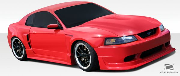 Duraflex 99 04 Ford Mustang Cbr500 Wide Body Kit Wide Body Kits Body Kit Mustang Body Kit
