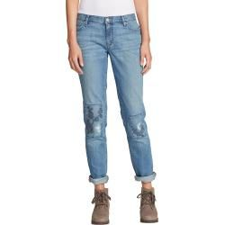 Embroidered Jeans - Slim Damen Eddie Bauer