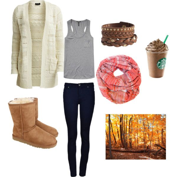 """""""Fall Morning Walk"""" by therufflifeky1824 on Polyvore"""