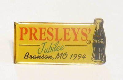 Presleys Coca Cola Branson MO Jubilee 1994 Pin Pinback | eBay