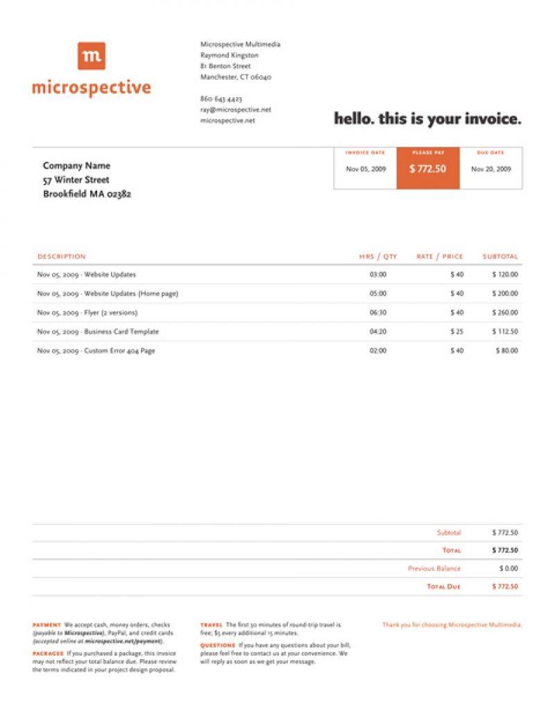 Best Invoice Templates In 2020 Invoice Design Invoice Template Freelance Invoice Template