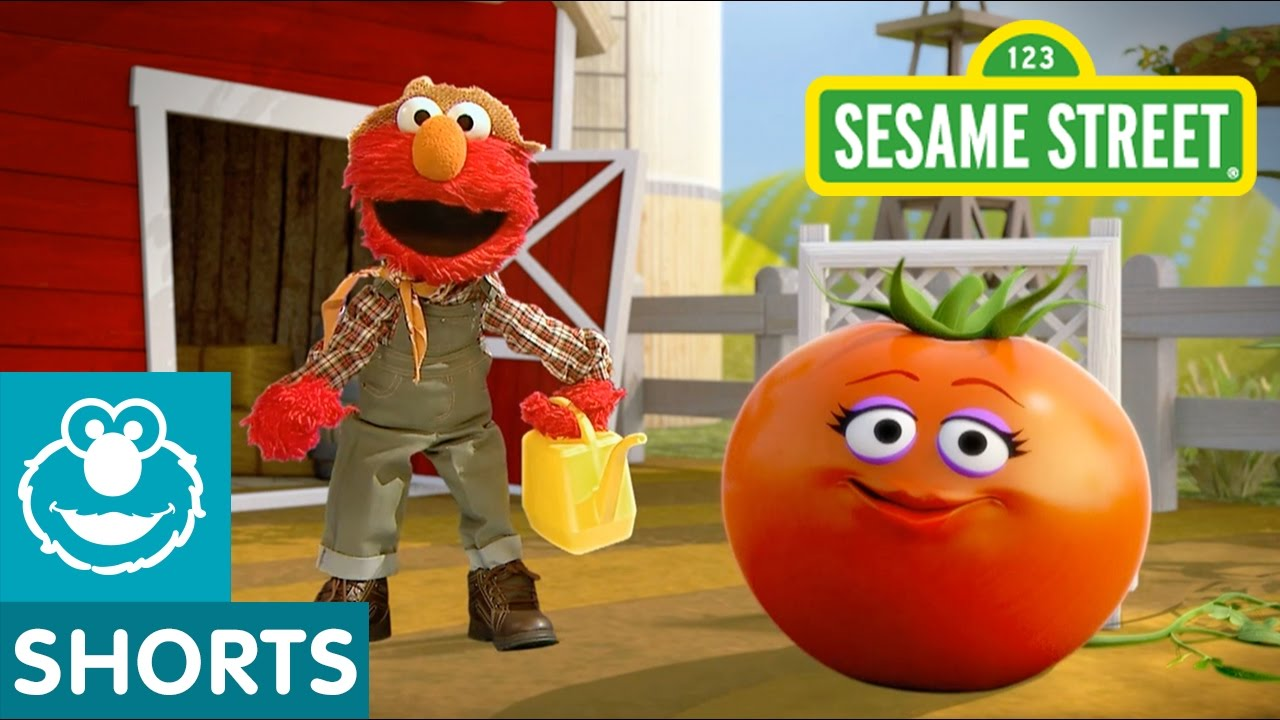 Sesame Street Tomato Elmo the Musical in 2020 Elmo