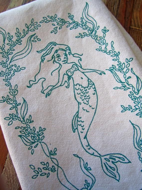 Cloth Napkins - Eco Friendly Dinner Napkins - Screen Printed Cloth Napkins - Reusable Cotton Cloth N #clothnapkins