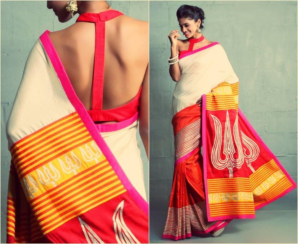 Gorgeous  sari blouse