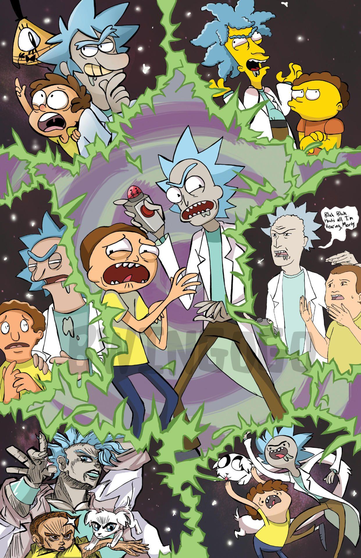 stupid o'clock | Rick and Morty