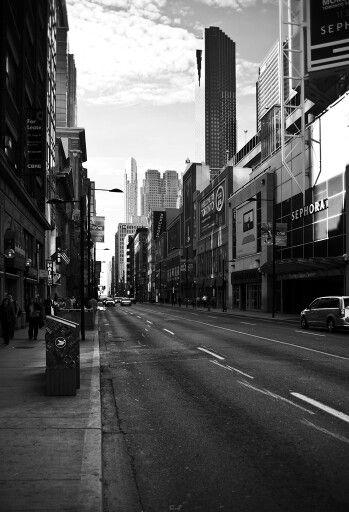 Toronto b&w