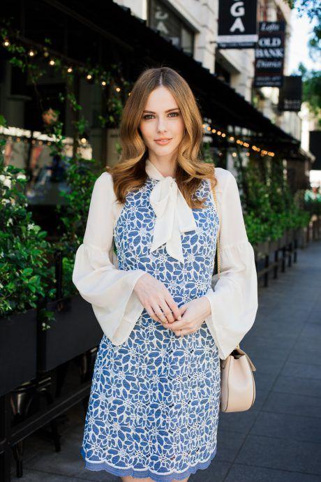 Alyssa Campanella The A List blog Miss USA 2011 Related Esme Dress Liah Blouse Chloe Small Drew Bag Pink
