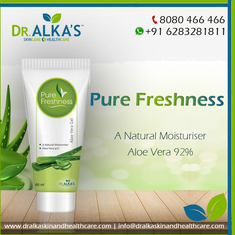 Pure Freshness Natural Moisturizer Acne Help Pure Products