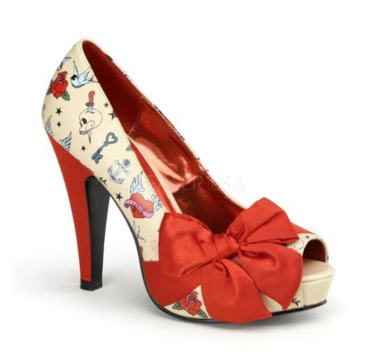 Must haves!! Tattoo print heels!!