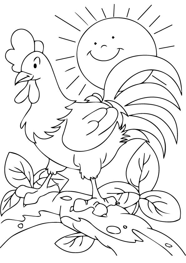 10 Cute Farm Animals Coloring Pages