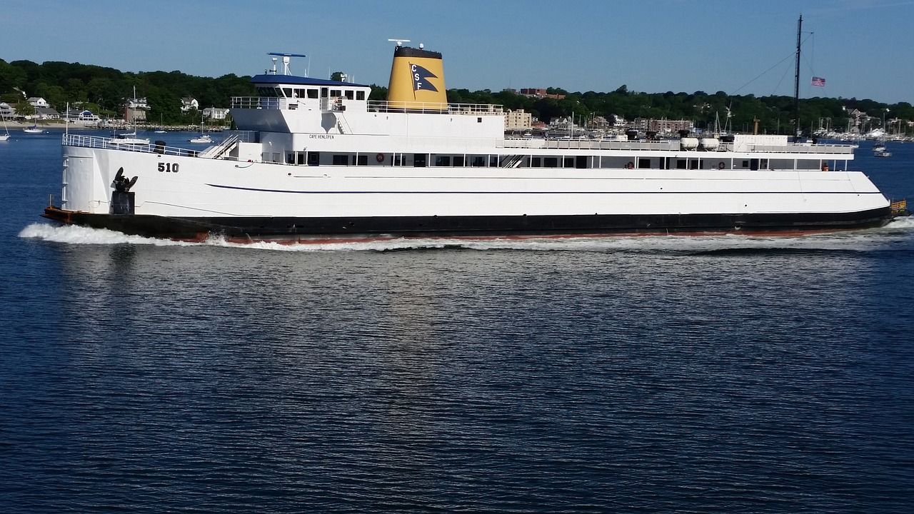 Boat long island ferry ny island ocean boat