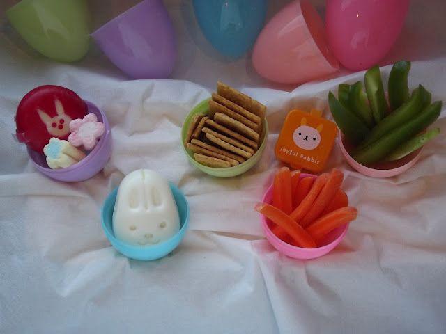 Cute Easter lunch on the go idea.