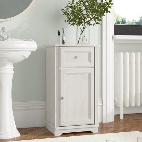Palace 43 X 81 Cm Freestanding Cabinet Belfry Bathroom Products In 2019 Free Standing Cabinets White Bathroom Furniture Bathroom