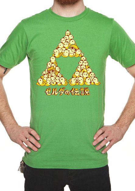 Cuckoo Triforce Unisex Tee $25.00