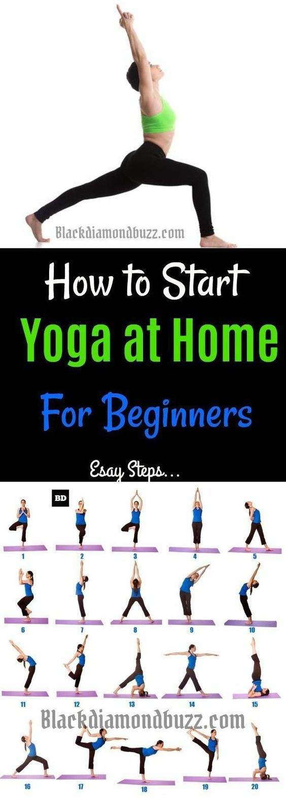 Yoga Poses 7 Easy Best Yoga Poses For Beginners And Back Stretches At Home You Can Even Do These Yoga Wo Easy Yoga Workouts How To Start Yoga Cool Yoga Poses