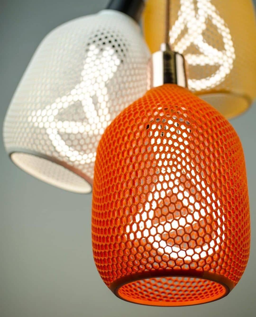 3d Gedruckte Beleuchtung Von Follow Fur Tagliche Designinhalte Und Inspiration 3d Drucker 3d Prints Inspiration