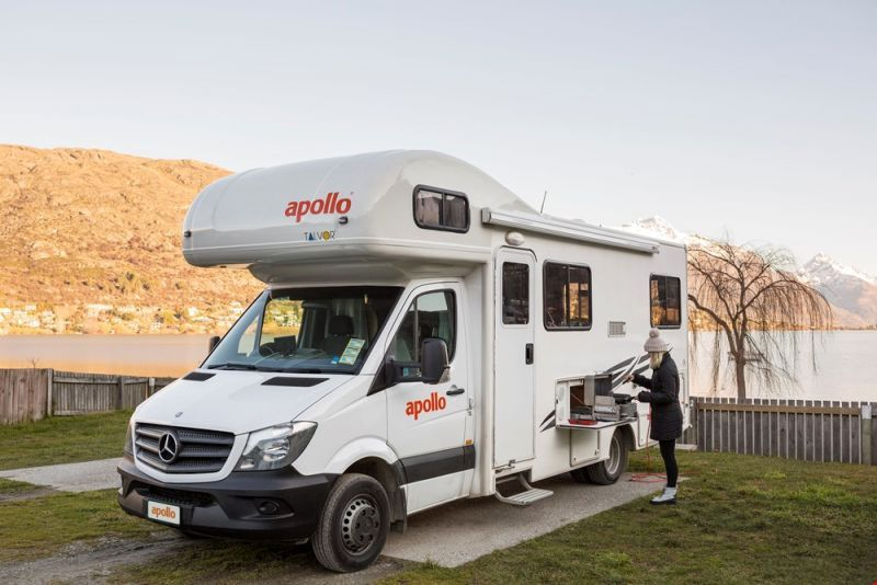 Campervan Hire New Zealand and Motorhome rental in NZ  Small