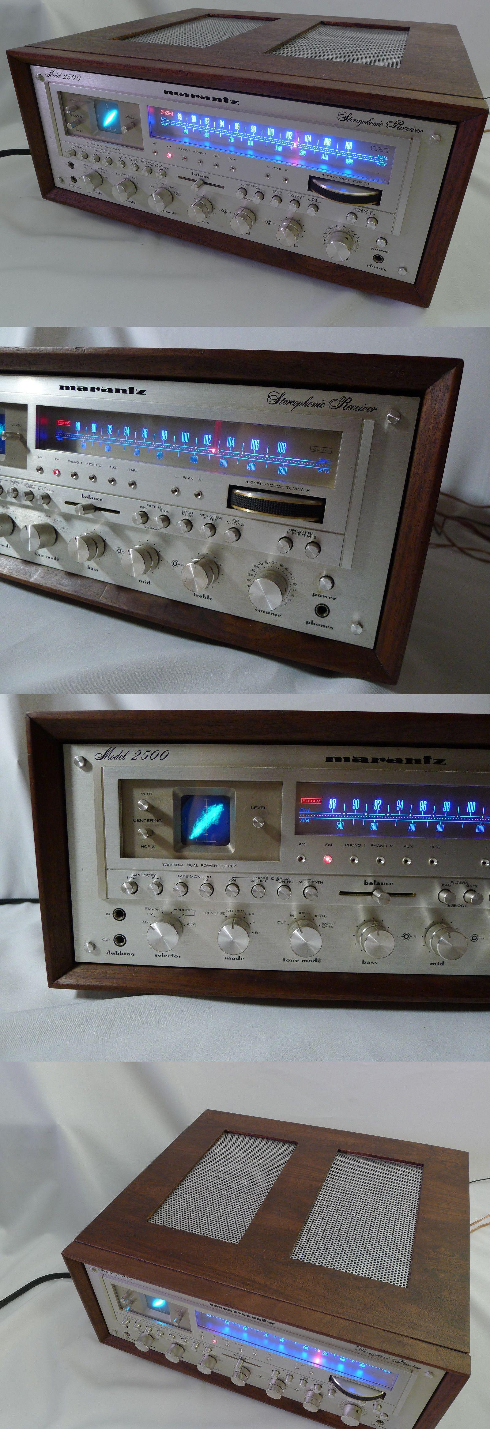 Vintage Stereo Receivers: Marantz 2500 Reciever With Custom