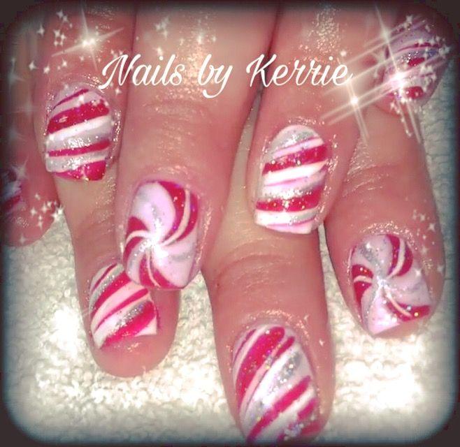 Pin de Courtney Wilson en christmas nails | Pinterest