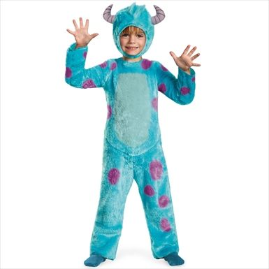 $34.99 Monsters U Sulley Toddler/Child Deluxe Costume www.partylandcostumes.com