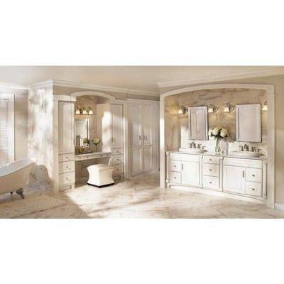 "Photo of Moen YB9863 Waterhill 22 ""Wide Victorian 3 Light Bathroom Fixture – Oil Rubbed B …"