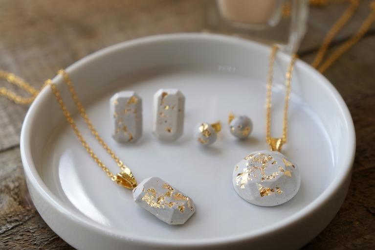 Modern Minimalist Concrete Jewelry Diy Idea You Can Craft