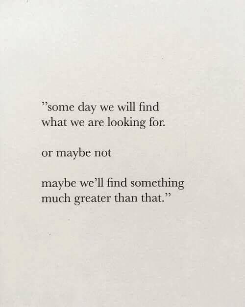 Maybe.....!?  Glaube kann ja bekanntlich Berge versetzen