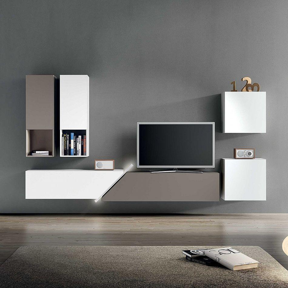 Designer Homeinterior Design: TV Unit Kube I. #contemporaryfurniture #livingroominterior