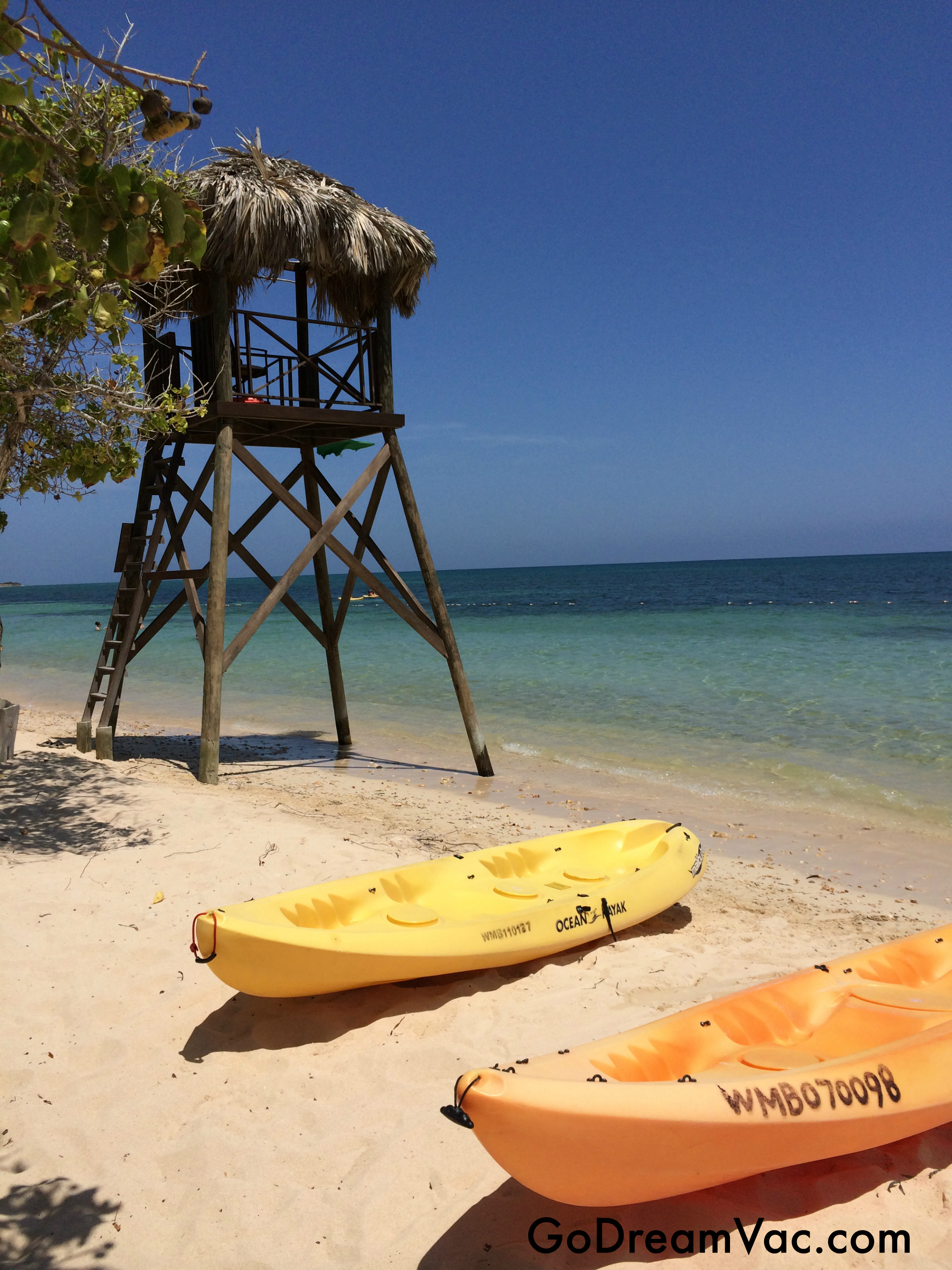 Ocean Kayak at Iberostar Rose Hall Suites Montego Bay