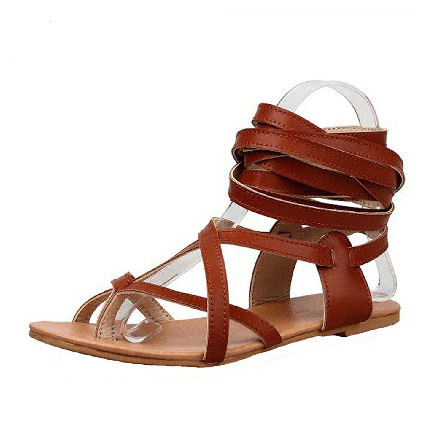 Dear Time Female Sexy Gladiator Thong Sandal Casual Shoes * Click image for more details.