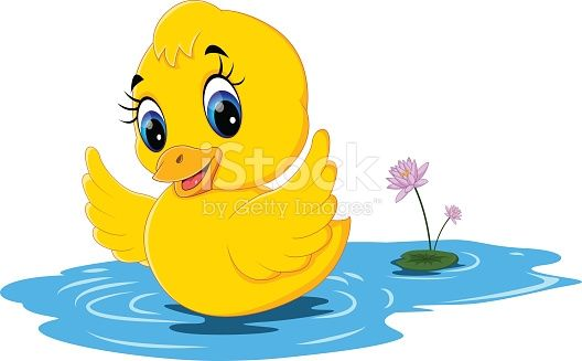Illustration Of Cute Baby Duck Cartoon Duck Cartoon Baby Ducks Cute Disney Drawings