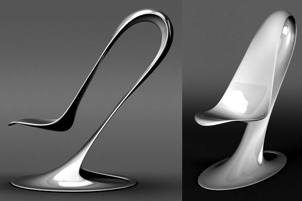 Beau Spoon Chair Design Combined With Advanced Technology Philipp Aduatz