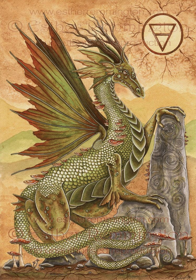 Earth Dragon: 'Earth Dragon' She Is The Dragon Of Strength, Growth And
