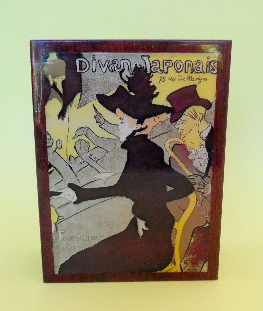 DIVAN JAPONAIS MUSIC Box Original Deichert Musical Box Made in Western Germany…