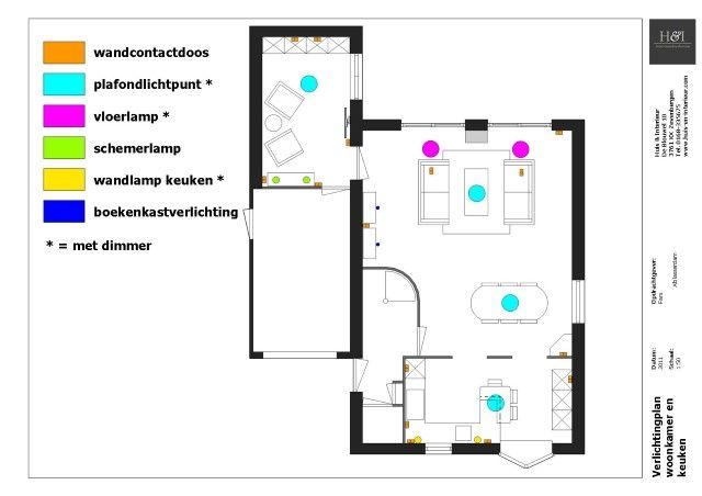 Afbeeldingsresultaat voor lichtplan woonkamer - Design house   Pinterest