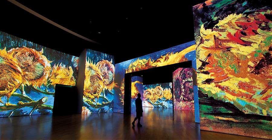 La Exhibición Van Gogh Alive Llega Por Primera Vez Al País Noticias Diario Adn Van Gogh Exposiciones Pintor