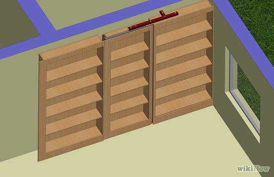 Superieur How To Build A Hidden Door Bookshelf