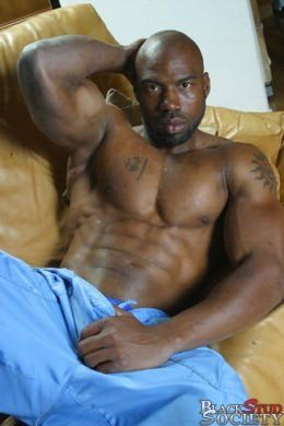 Muscle black gay cock