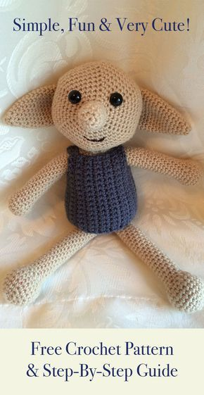 Crochet Dobby Make Your Own Dobby The House Elf Toy Elises
